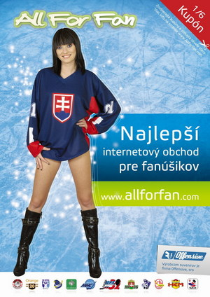 Inzerát v časopise Náš Hokej