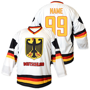 National Hockey Teams - Germany hockey jersey white  99d9b479424