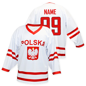 finest selection c1788 14696 National Hockey Teams - Poland hockey jersey white | Slovak ...